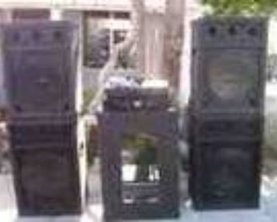 Dj Speakers With Amp And Equalizer