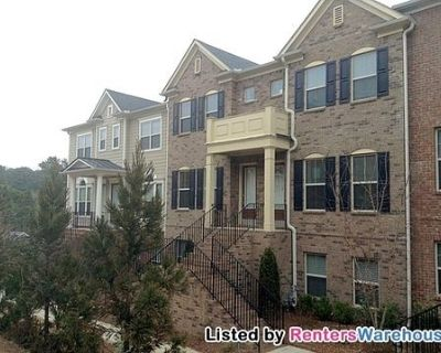 Spacious 3 Story-3 Bath Townhome in North Druid HIlls