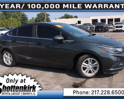 Certified Pre-Owned 2018 Chevrolet Cruze LT Automatic Front Wheel Drive Sedan
