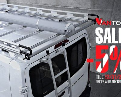 Carry more gear for your adventures with Vantech Racks + SALE