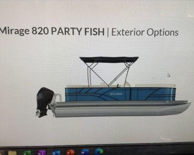 2021 Sylvan Mirage 820 Party Fish Pontoon Boats Hutchinson, MN