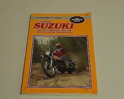 Suzuki Clymer 125-400cc Singles 1964-1981 Service Repair Performance Manual