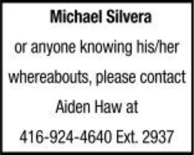 Michael Silvera or anyone kn...
