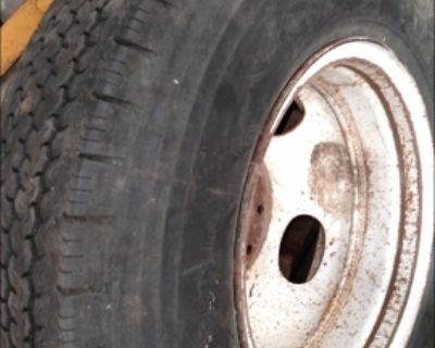 """Spare of 1 ton Chevy GMC Dually 16"""" size 7.50"""