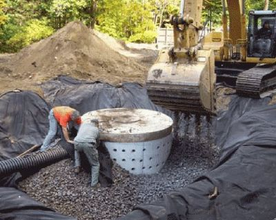 BEST - Dry wells, french drains, drainage, installation or repair