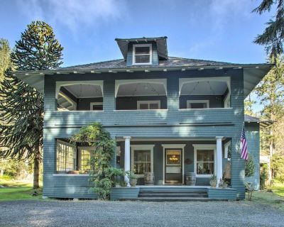 West Coast Luxe: Historic Seaview Manor Built 1906 - Seaview