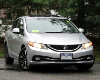 Used 2013 Honda Civic Sdn 4dr Auto EX-L LEATHER BACKUP CAMERA