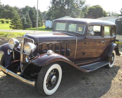 1933 Nash Ambassador