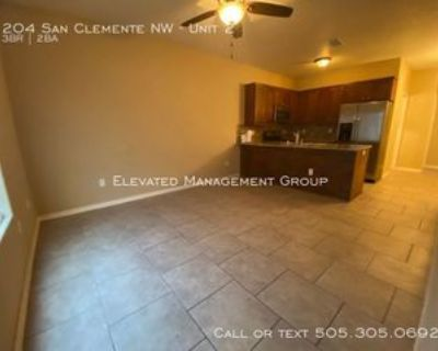 204 San Clemente Ave Nw #2, Albuquerque, NM 87107 3 Bedroom Apartment