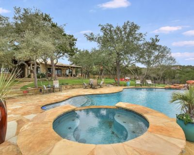 ABOVE SERENITY | 8mi to ATX | Pool/Spa I 10 Beds | Acres of Land | Views - Austin