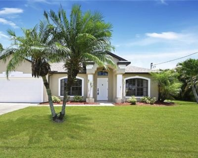 Waterfront Smart Home * Multi-Enjoyable Activities*Fishing Rod - Cape Coral