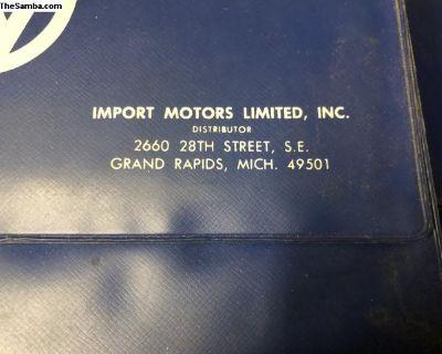 Import Motors Grand Rapids Mich dealer folder