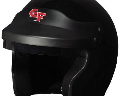 G-force 3121smlbk Gf1 Race Helmet Open Face Small Black Sa2015