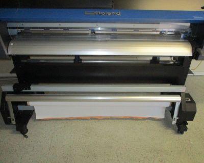"Roland VG-540 TrueVis 54"" Printer/Cutter RTR# 0111787-01"