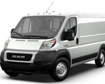 "NEW 2021 RAM PROMASTER 1500 CARGO VAN LOW ROOF 136"" WB"