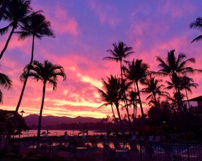 Beautiful Lae Nani Unit 112 Oceanfront One Bedroom Condo Coconut Coast Wailua - Wailua