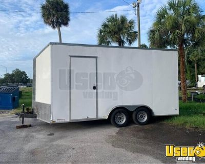 Newly Remodeled 2019 - 8.5' x 16' Food Concession Vending Trailer