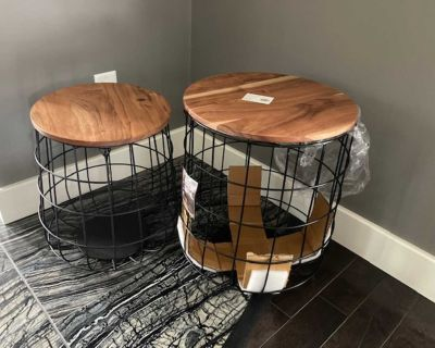 Plant Stands/Side Tables - BRAND NEW