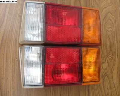 Cabriolet Rabbit Convertible Taillights Pair Lens