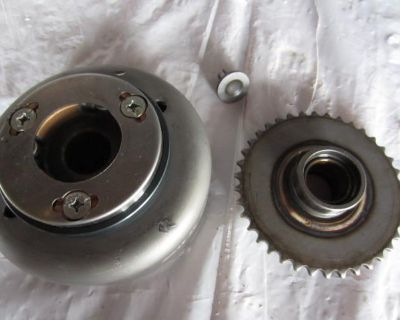 99 Honda Cmx 250 Rebel Complete Starter Clutch Flywheel