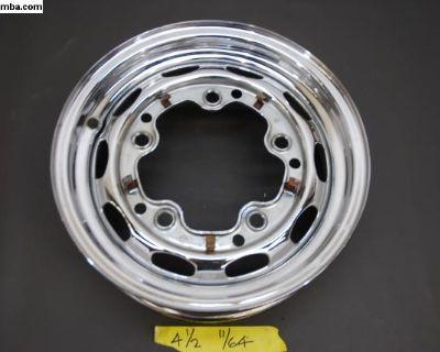 11/64 KPZ 15x4.5 Chrome POrsche 356 Steel Wheel