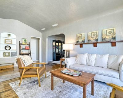 New! El Paso Home w/ Backyard + Outdoor Fireplace! - Pershing - Government Hill