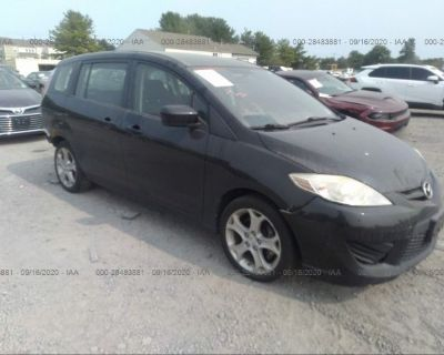 Salvage Black 2010 Mazda Mazda5