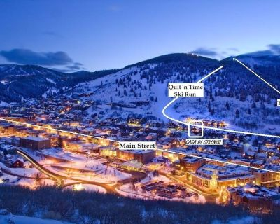 Old Town - Ski-In/Out - Super Luxurious 5BR/5BA - Hottub--Firepit - Ski Run View - Downtown Park City