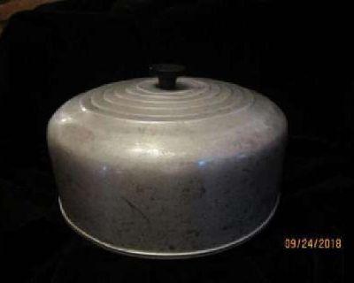 Vintage Aluminium Cake Dome