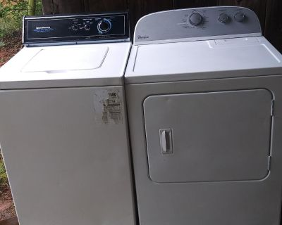 SHANNONS AFFORDABLE TREASURES!! WE CAN DELIVER & UNLOAD FOR $25...NICE SPEED QUEEN COMMERCIAL QUALITY WASHER & WHIRLPOOL HEAVY DUTY DRYER...WORKS GREAT!