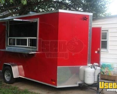 Super Neat Used 2018 6' x 12' Mobile Food Concession Trailer
