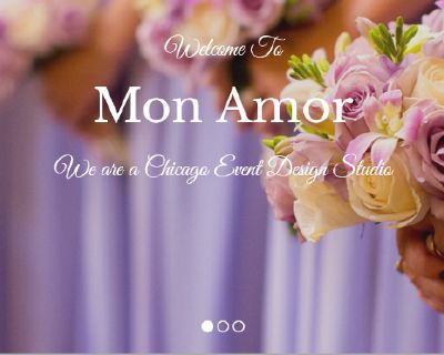 Mon Amor Event Planner in Highland Park Best Event Decoration Northbrook