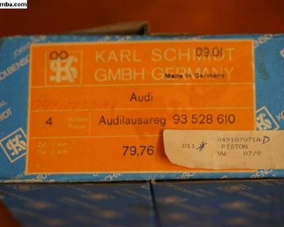 NOS Piston Set of 4 Kolbenschmidt (049 107 071 A)