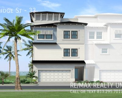 Inlet Shore - Waterfront Luxury Townhome - 5351 Bridge St #33 Tampa 33629