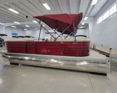 2022 Crest 220 CLASSIC DLX SLC Pontoon Boats Kaukauna, WI