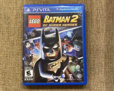 Lego Batman PS Vita game