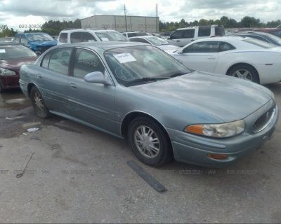 Salvage Blue 2003 Buick Lesabre