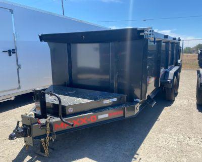 "2021 MAXXD TRAILERS 16' X 83"" DUMP TRAILER Trailer Elk Grove, CA"