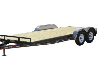 2021 PJ Trailers 5 in. Channel Carhauler (C5) 22 ft. Sport Utility Trailers Paso Robles, CA