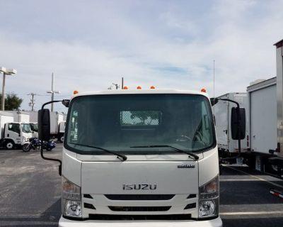 2017 Isuzu NPR HD Gas, 16ft flatbed. Only 4500 miles Factory warranty