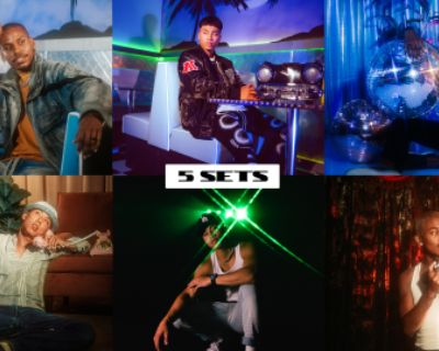 NEW - Multi-Set Retro Studio - Lighting Included - Neon Diner, Theater, 70 s Loft, Disco Room, Black Tunnel, Los Angeles, CA