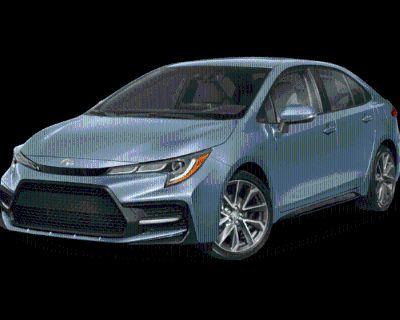 New 2022 Toyota Corolla SE 4dr Car FWD