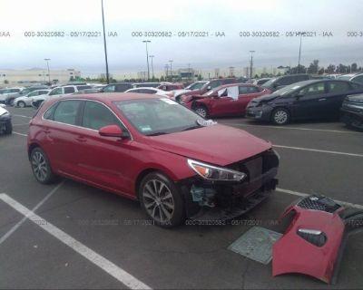 Salvage Red 2018 Hyundai Elantra Gt
