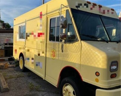 Ready to Complete Diesel Step Van Food Truck / Used Mobile Kitchen