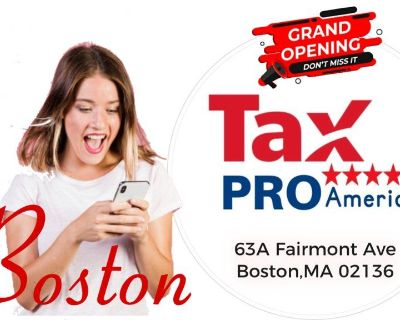 Tax Services Boston MA | Accountant Tax Preparer near me | TAX PRO America