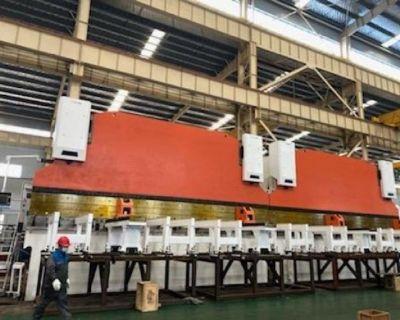 AccurlUSA 2200 ton 58' Tandem CNC Press Brake EuroPro 582200 2 / 29' X 1100T 7-AXIS for Y1 , Y2 , X1