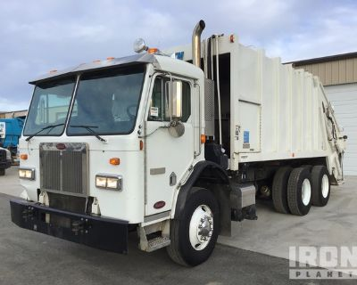2011 Peterbilt 320 6x4 COE Rear Loader Waste Collection Truck