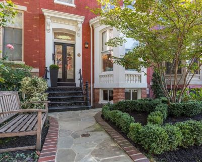 Grand 4BR historic town home on tree-lined street - Logan Circle