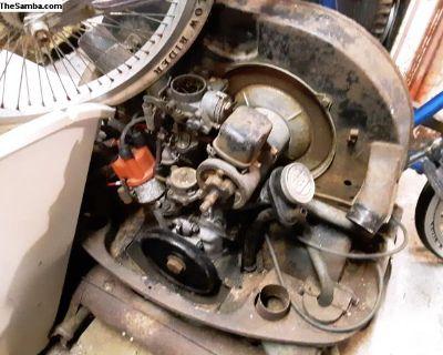 Complete 1965 D Block 40hp Engine L TN