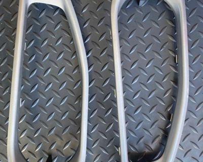 Florida - Stock Silver Front bumper trim inserts